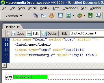 format html dreamweaver dreamweaver form tips html tutorials