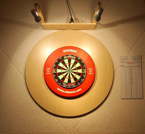 bã ro bild dartboard beleuchtung dart beleuchtung am