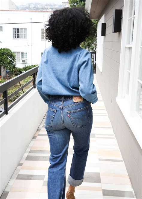 tracee ellis ross jeans the look the high waisted jeans the new potato