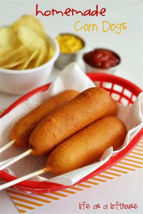 corn dogs recipe corn dogs