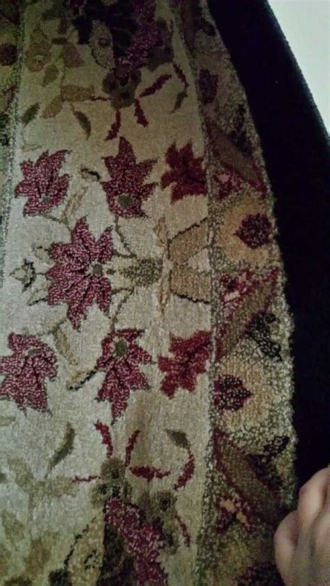 Black And White Floral Rug by Letgo Gray Black And White Floral Rug In Mishawaka In
