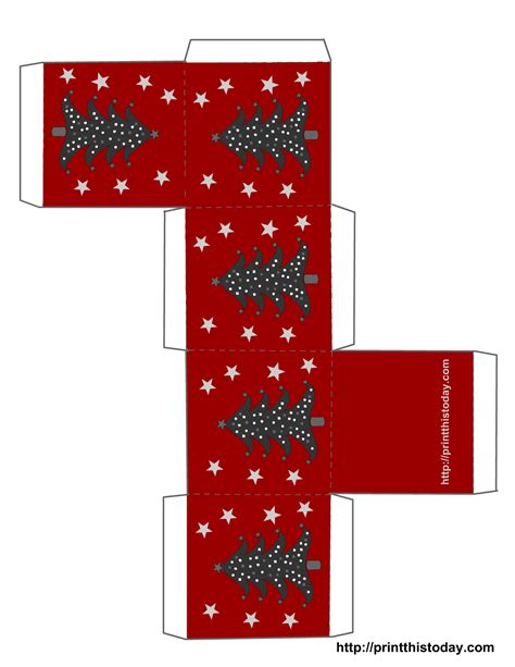 treat boxes templates free printable boxes