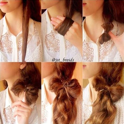 bow hairstyle step by step 15 simple step by step hairstyles bow ponytail bows and