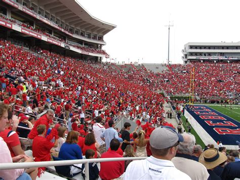 ole miss student section ole miss student section vaught hemingway stadium univer