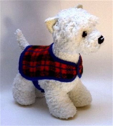 knitting pattern for westie dog coat easy dog sweater patterns