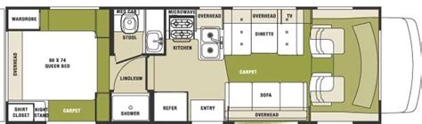 sunseeker motorhome floor plans 2004 forest river sunseeker le class c rvweb com