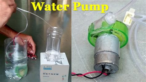 how to make a water pump for a fountain fountain design ideas