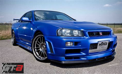 nissan skyline fast and furious 6 paul walker s nissan skyline from fast and furious 4 for