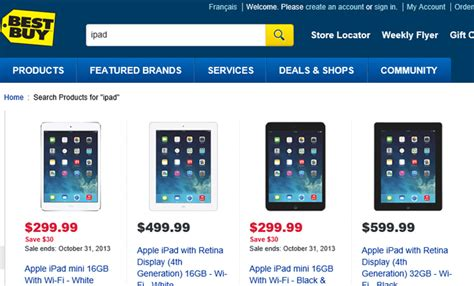 ipads at best buy best buy and future shop overcharging 100 for njn