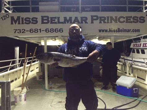 belmar new jersey party boat fishing new jersey party boat report miss belmar princess on