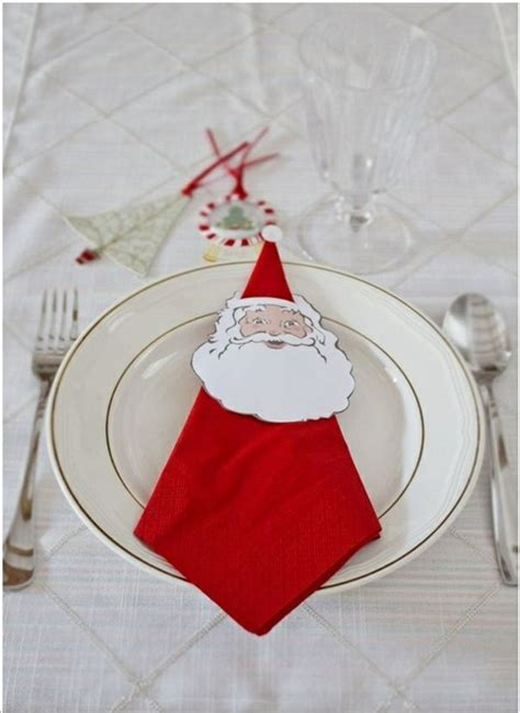 Craft Ideas With Paper Napkins - paper napkin folding festive table