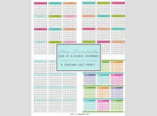 FREE 2016 At-A-Glance Calendars - Clean Mama 2016 Free Printable