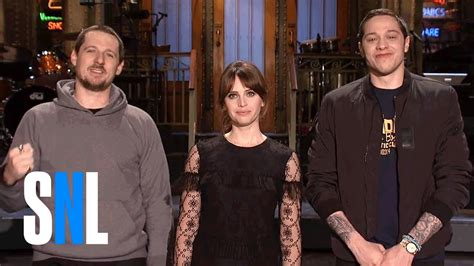 saturday night live tattoo removal snl host felicity jones grants sturgill pete