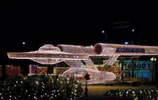 best light display trek u s s enterprise light
