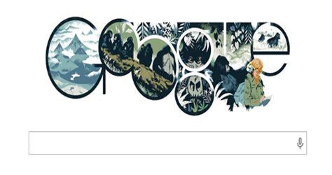 doodle de hoy 22 de enero celebra el cumplea 241 os de dian fossey la mujer que