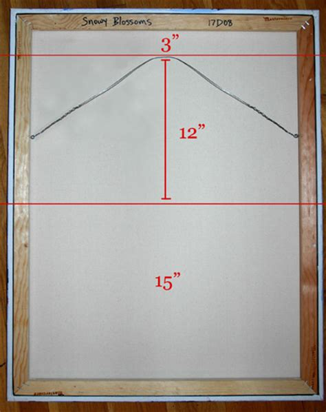 how to hang a canvas how to hang a painting art by cedar lee