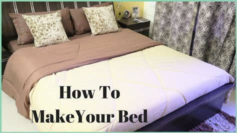 correct way to make a bed how to make a bed how to put a bed sheet on a bed youtube