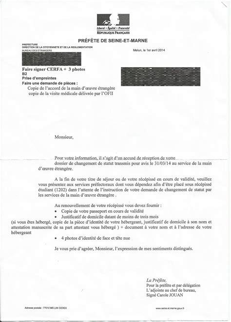 Lettre De Recours Refus De Visa Etudiant Application Letter Sle Exemple De Lettre De Demande De Visa Etudiant