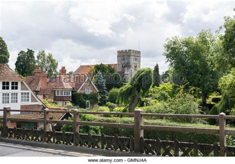 goring street scene george michael s house the mill goring bridge stock photos goring bridge stock images