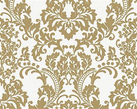 Wallpaper Stiker Motif Yellow Colour Flower Ukuran 45 Cm X 10 M barok behang wit goud 964625 assorti behang trendy hip