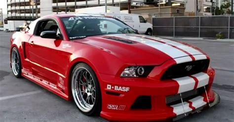 mustang shelby gt wide boy kits cars
