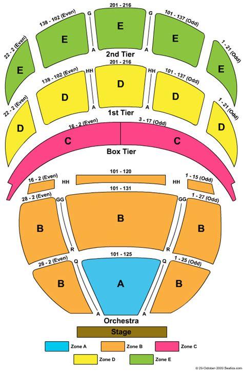 Boston Opera House Seating Chart by 4 Boston Opera House Seating Chart Artist Resume