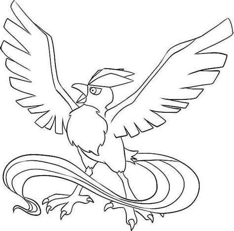 articuno coloring page articuno pokemon coloring pages getcoloringpages com