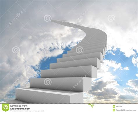 Trap Door Design trap aan de hemel royalty vrije stock afbeelding beeld
