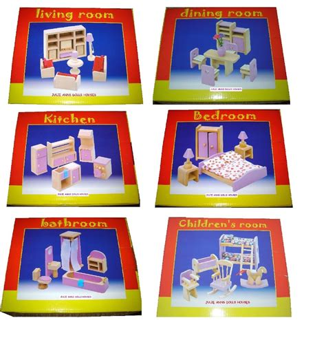dolls house furniture sets dolls house furniture sets in pink x 6