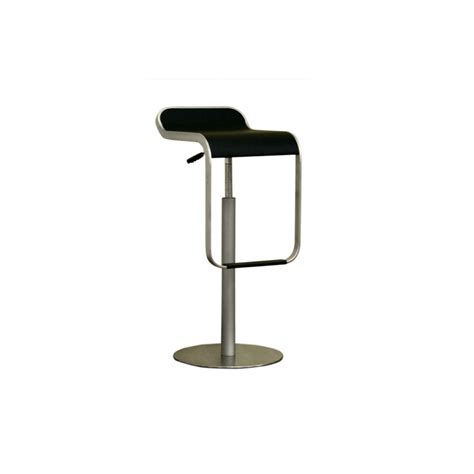 Black Stool by Black Adjustable Bar Stool See White