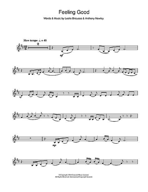 tutorial piano feeling good feeling good piano sheet music michael buble paula abdul