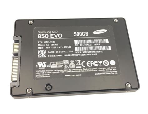 Samsung Ssd 850 Evo 500gb Sata 2 5 samsung ssd 850 evo 500gb sata 2 5 solid state drive