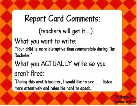 sle report comments for teachers report card comments made easy s helper