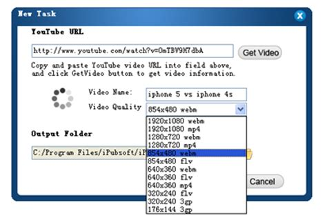 format video qualité download youtube videos and save as flv format on mac windows