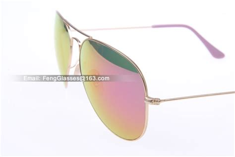 Kacamata Rayban Aviator 3026 Purple Ungu sun sunglasses rb aviator rb3026 sunglasses in matte gold with purple mfulinglasses