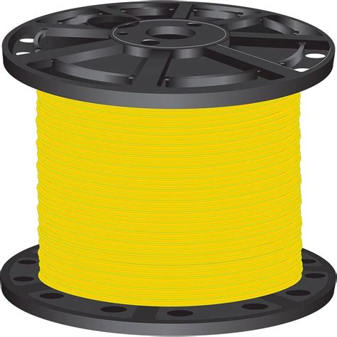 southwire 500 ft 6 yellow stranded cu simpull thhn wire