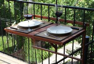 balcony foldable table exterior wood deck table outdoor