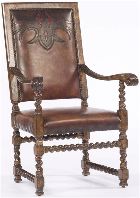 Western Dining Room Furniture by Western Leather Arm Chair