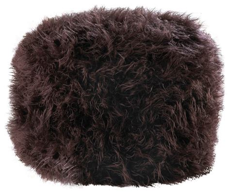 fuzzy white ottoman fuzzy black ottoman pouf contemporary floor pillows