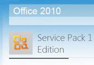 Office 2010 Service Pack by Microsoft Office 2010 Service Pack 1 Sp1