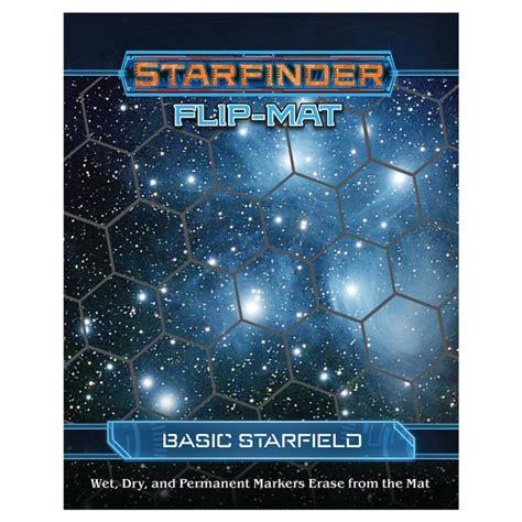 starfinder flip mat starship books sfrpg flip mat basic starfield