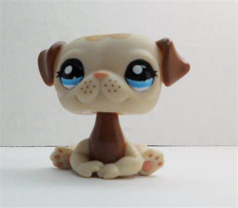 the pug shop littlest pet shop pug 1753 brown