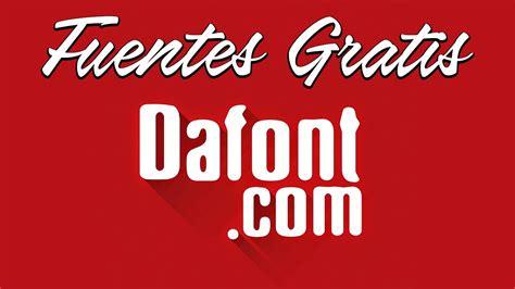dafontcom descargar fuentes  tipos de letras gratis youtube