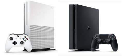 what console is better xbox one or ps4 xbox one s vs ps4 slim which is the better console lakebit