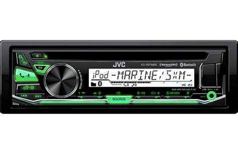 boat stereo volume control get 2018 s best deal on jvc kd r97mbs marine stereo rock