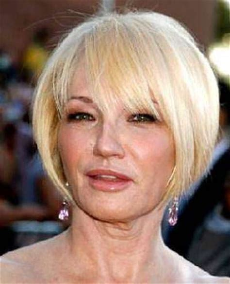 short hairstyles for older square faces 3 hairstyles for older women with square faces
