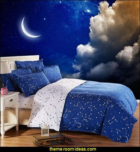 Galaxy Bedroom Wallpaper Uk Decorating Theme Bedrooms Maries Manor Celestial Moon