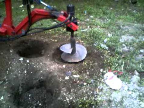 Bor Tanah Bermesin alat lubang tanam planting tool doovi