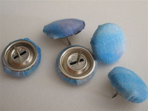 upholstery buttons to cover pregnant with power tools fabric covered thumbtacks