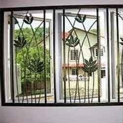 Secure House Windows Decorating Modern Window Grill Design Catalog Pdf Home Intuitive